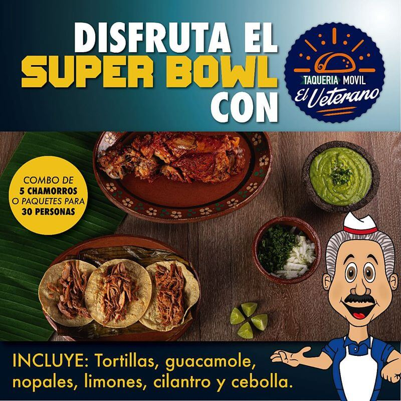 Paquetes chamorros Super Bowl 2020